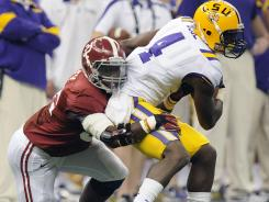 A four-team playoff with only conference champions would make last year's title game between Alabama and LSU an impossibility.