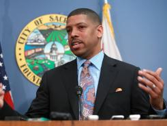 Sacramento Mayor and former NBA guard Kevin Johnson said he has had enough in dealing with the Maloof brothers to finance a new arena for their NBA Kings.