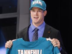 Ryan Tannehill may not be the No. 1 quarterback for awhile, but the Dolphins say they are confident they have a franchise player.