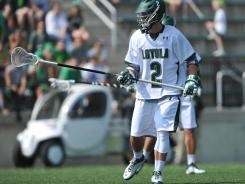 Midfielder Scott Ratliff is one of two semifinalists for the Tewaaraton Award (Mike Sawyer is the other) on the Loyola roster.