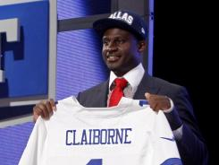 Morris Claiborne didn't even work out for the Cowboys, so he was more than a little surprised when Dallas traded up to select him with the sixth pick.