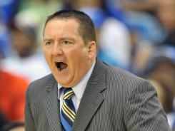 Donnie Tyndall, 41, coached at Morehead State the past six seasons, leading the program to two NCAA tournament appearances during his tenure.