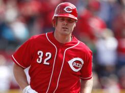 Jay Bruce hit his fourth home run in as many games to lead the Reds over the Astros.