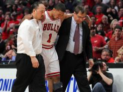 Chicago Bulls lost point guard Derrick Rose for the rest of the NBA Playoffs.