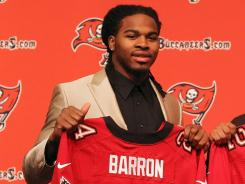 Mark Barron was one of three defensive backs taken within the first 10 picks of the 2012 NFL draft.