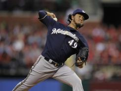 Milwaukee Brewers pitcher Yovani Gallardo has pitched better than his overall numbers would suggest.
