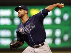 David Price pitched six-plus innings of two-run ball to help the Rays to their 10th win in 13 games.