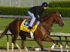 All in the delivery:  Dullahan, named after an Irish legend, enters Saturday's Kentucky Derby with a win in the Blue Grass Stakes.