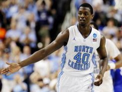 North Carolina's Harrison Barnes is a projected top five pick in the 2012 NBA draft this June.
