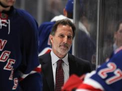 Rangers coach John Tortorella is focused on beating the Capitals rather than taking questions from news media members.