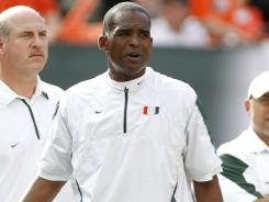 Randy Shannon went 28-22 in four seasons with Miami before being in 2010.