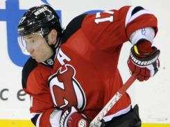 Ilya Kovalchuk was the Devils' leading scorer in the regular season.