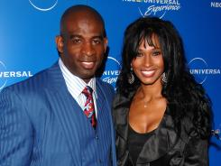 Deion and Pilar Sanders in 2008.