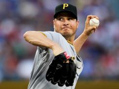Pirates starter Erik Bedard struck out 11 Cardinals in only 5 innings of work. The Pittsburgh bullpen struck out six more.