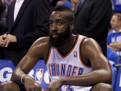 Oklahoma City Thunder guard James Harden, a front-runner for the NBA's Sixth Man of the Year award, could be added to the U.S. Olympic preliminary roster.