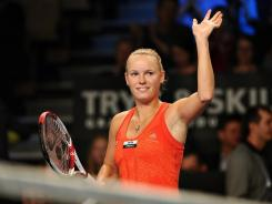 Caroline Wozniacki of Denmark will try to win in New Haven this summer for the fifth year in a row.