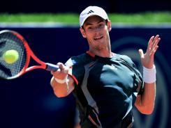 Andy Murray withdrew Friday from next week's Madrid Open because of a back injury.