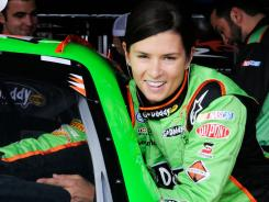 Danica Patrick this weekend returns to a restrictor-plate track for the first time since crashing out of three races at Daytona in February.