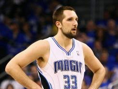Magic power forward Ryan Anderson finished with career highs in points per game (16.1 compared to 10.6 last season), rebounds (7.7) and three-pointers made this season.