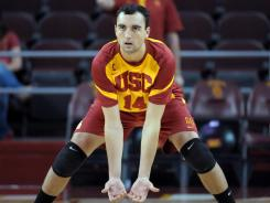 Tony Ciarelli, the national player of the year, led Southern California in kills and digs in its semifinal win Thursday against Lewis.