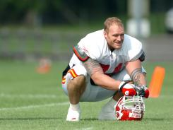 Kyle Turley retired after the 2007 season with the Chiefs.