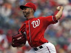 Gio Gonzalez pitched seven innings of one-run ball, and the Nationals won their fourth straight.