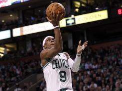 Rajon Rondo had 20 points and 16 assists in the Celtics' Game 4 blowout win.