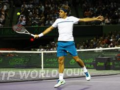Roger Federer of Switzerland, who hasn't played since March, returns to the tour this week at the Madrid Open.