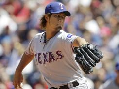 Rangers' Yu Darvish had not lost a game in his first five starts (4-0).