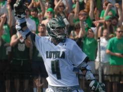 Mike Sawyer, who has 45 goals this season, leads top-seed Loyola (Md.) into the NCAA tournament.