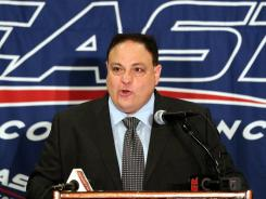 John Marinatto is out after a three-year run as commissioner of the Big East.