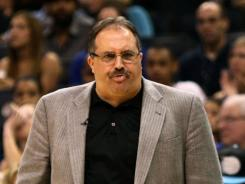 Orlando Magic coach Stan Van Gundy had a drama-filled year with Dwight Howard that ended with Tuesday's loss to the Indiana Pacers  but he wants to return.