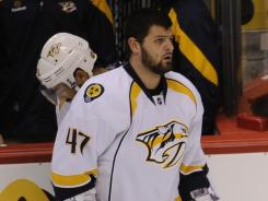 Alexander Radulov was suspended for Games 3 and 4 of the Predators' series against the Coyotes.