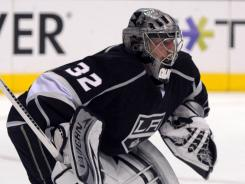 Los Angeles Kings goalie Jonathan Quick led the regular season in shutouts and has excelled in the playoffs.
