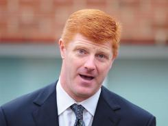 Former Penn State assistant coach Mike McQueary and his lawyer filed a notice that they'll be pursuing a whistleblower lawsuit against the university.