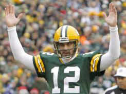 Aaron Rodgers followed his Super Bowl XLV performance by winning NFL MVP honors for the 2011 season.
