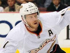 Saku Koivu has signed on for a fourth season with the Anaheim Ducks.
