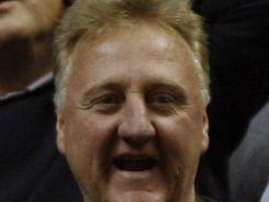 Indiana Pacers president Larry Bird is delighted the team is giving fans a reason again to celebrate pro basketball.
