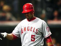 Through his first 25 games with the Angels, Albert Pujols has yet to hit a home run in 101 at-bats.