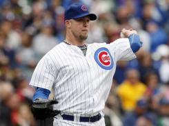 Cubs starter Paul Maholm allowed three hits through seven innings to win his fourth consecutive start.