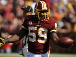"Washington Redskins linebacker London Fletcher says there should be counseling for both current and former players, ""just preparing to deal with physical, mental, emotional stress that comes with being in the game."""
