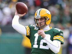 Green Bay Packers quarterback Aaron Rodgers was mentioned in an e-mail from a prison inmate to the Saints coaching staff.