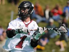 Junior Will Manny, UMass' top scorer with 75 points, is one of five finalists for the Tewaaraton Award, which goes to the nation's most outstanding player.
