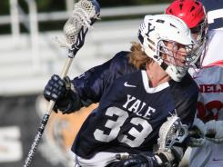 Matt Gibson, MVP of the Ivy League tournament, leads Yale in assists with 29. His 56 points are the most in a season by a Yale player in 11 years.