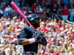 Jason Heyward Jason Heyward ended a 10-pitch at-bat with a bases-clearing double in third inning as the Braves beat the Cardinals 7-4 on Sunday.