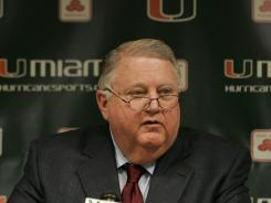 Paul Dee, the former athletic director of the University of Miami, has died.