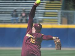 Dallas Escobedo, the winning pitcher in last year's NCAA title game for Arizona State, is 20-4 this season for the third-seeded Sun Devils.