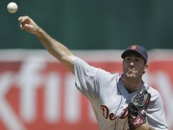 As usual, Tigers starter Justin Verlander was stellar in winning his 13th consecutive road decision on Sunday against the Athletics.