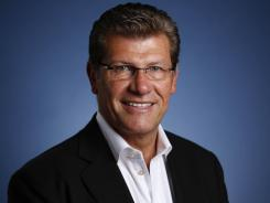 Connecticut women's basketball coach Geno Auriemma will coach the U.S. women in the London Olympics.