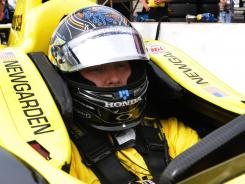 For the second time in two days, Josef Newgarden turned in the fastest lap during Indianapolis 500 practice.